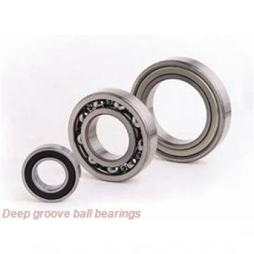 55 mm x 100 mm x 25 mm  skf 62211-2RS1 Deep groove ball bearings