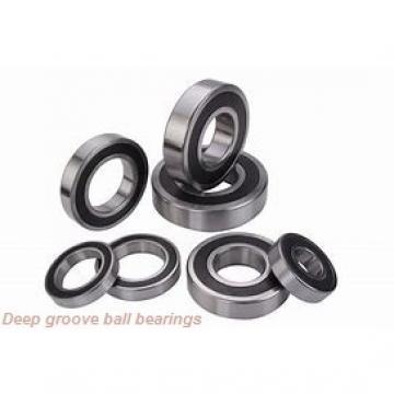 3,967 mm x 7,938 mm x 2,779 mm  skf D/W R155 Deep groove ball bearings