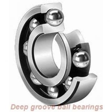 12 mm x 21 mm x 5 mm  skf 61801-2RS1 Deep groove ball bearings