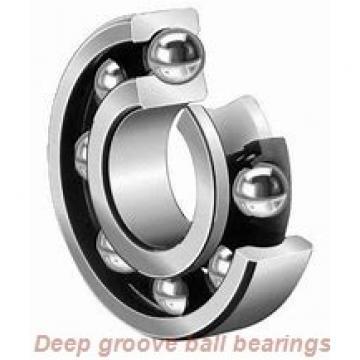 6 mm x 10 mm x 2.5 mm  skf W 617/6 R Deep groove ball bearings