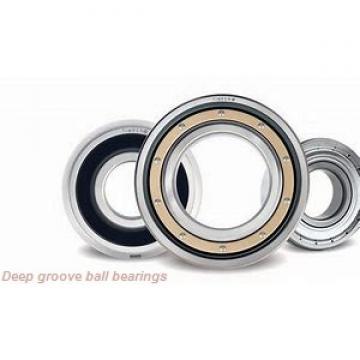 2 mm x 6 mm x 2.5 mm  skf W 619/2 X Deep groove ball bearings