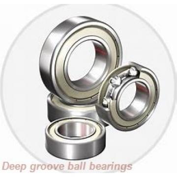 25 mm x 62 mm x 17 mm  skf 6305 NR Deep groove ball bearings