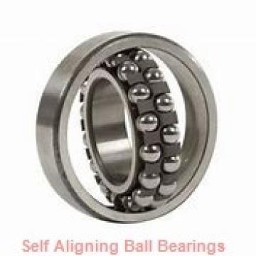 75 mm x 130 mm x 25 mm  skf 1215 K Self-aligning ball bearings